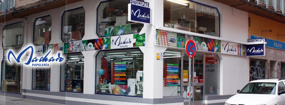 Papelería Machado (Calle Toro)