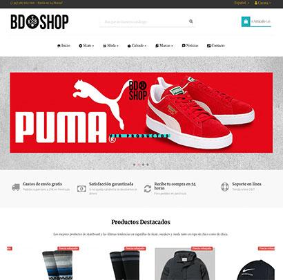 BDshop Moda Joven Streetwear & skateboard